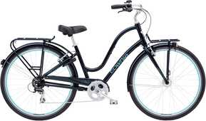 Electra Townie Commute 8D EQ dam svart one-size